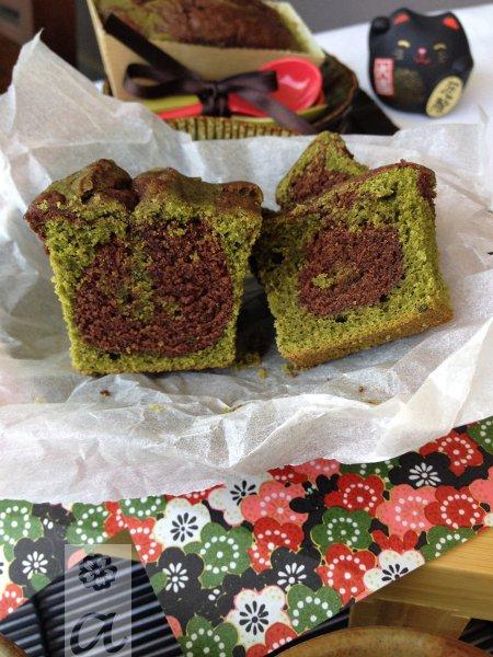 alexiabakecelona_matcha_choco_cake